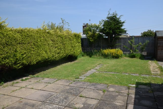 Rear Garden of Maresfield Drive, Pevensey Bay BN24