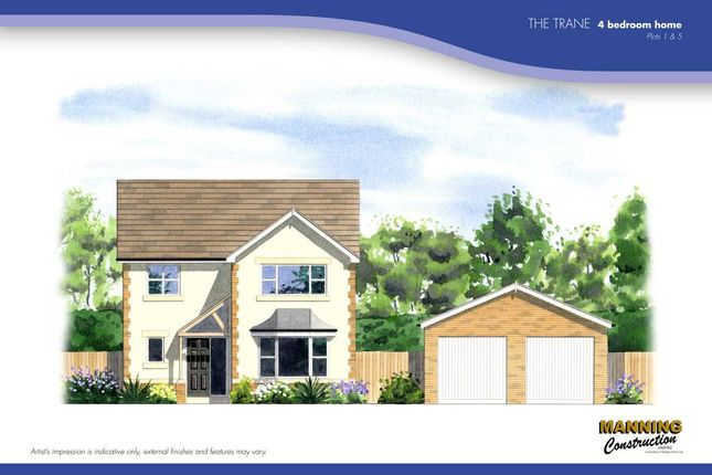 Thumbnail Detached house for sale in Residential Development, The Trane, Porth