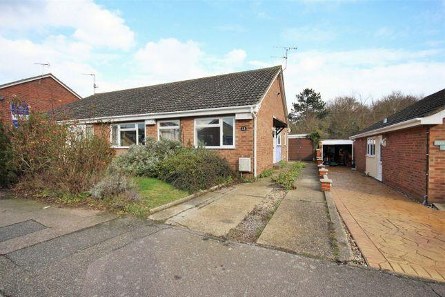 Thumbnail Semi-detached bungalow for sale in Bracken Way, Abberton, Colchester, Essex