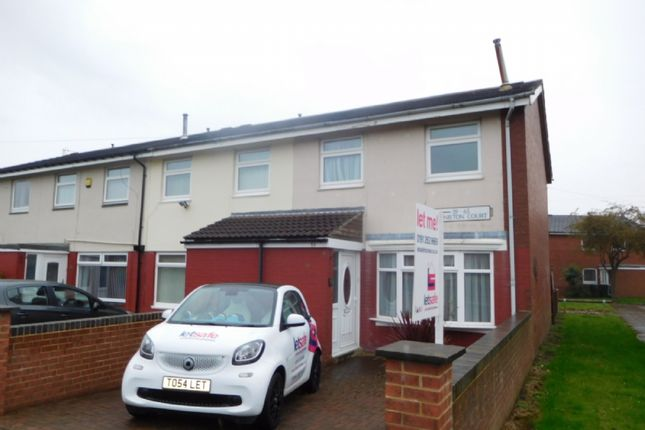 Thumbnail Terraced house to rent in Coniston Ct, Howdon, Wallsend.