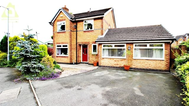 4 bed detached house for sale in Bristle Hall Way, Westhoughton, Bolton BL5