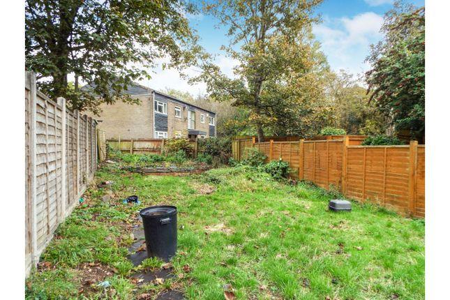 Garden of Millbrook Road, Birmingham B14