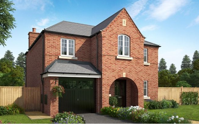 Thumbnail Detached house for sale in The Wharfdale, Hoyles Lane, Cottam, Preston, Lancashire