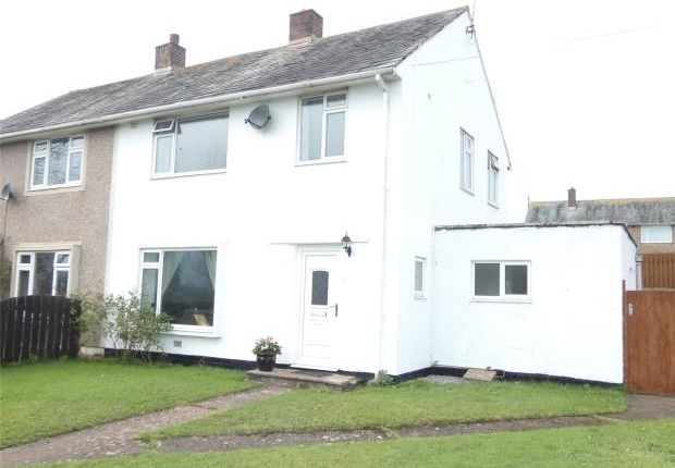 Thumbnail Semi-detached house for sale in Lingmell Crescent, Seascale, Cumbria