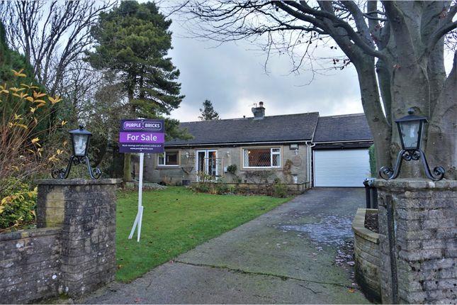 Thumbnail Detached bungalow for sale in Sterndale Close, Buxton