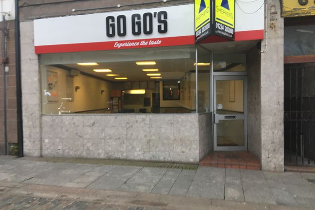 Thumbnail Restaurant/cafe to let in Marischal Street, Peterhead