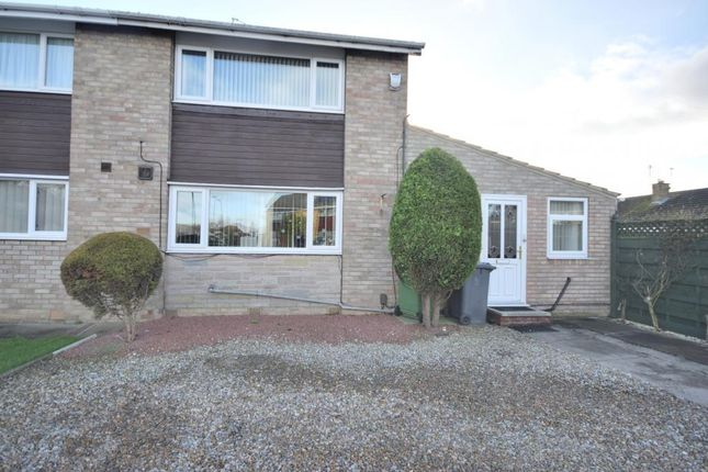 Thumbnail Semi-detached house for sale in Ryecroft Avenue, York
