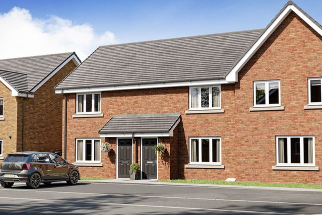 Thumbnail Terraced house for sale in Springhill And Leadloch Road, Shotts