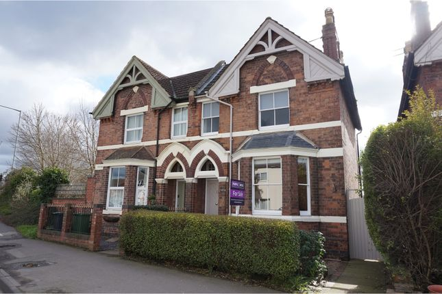 Thumbnail Semi-detached house for sale in Emscote Road, Warwick