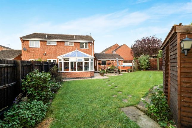 3 bed semi-detached house for sale in Wexford Close, Oadby, Leicester
