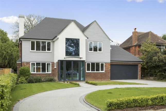 Thumbnail Detached house for sale in Cricket Way, Weybridge, Surrey