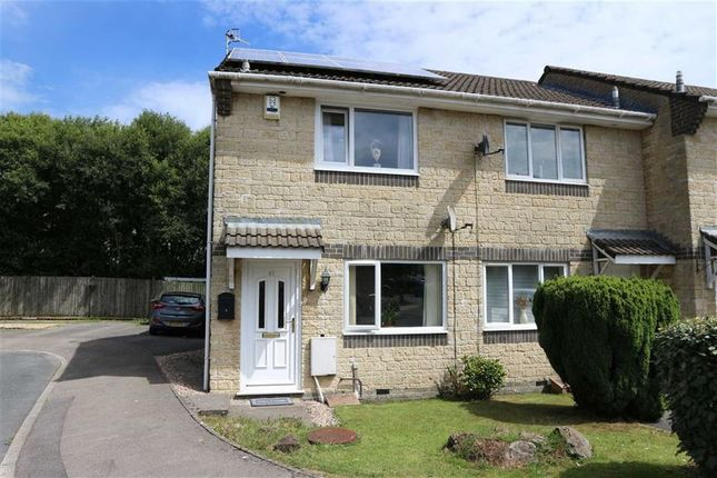 Thumbnail End terrace house for sale in Herons Way, Caerphilly