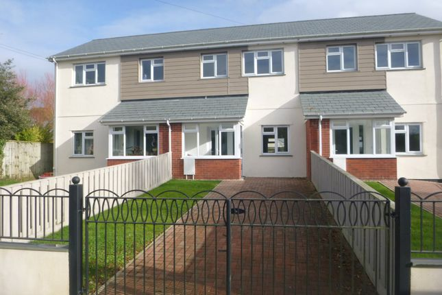 Terraced house to rent in The Old Garages, Week St. Mary, Holsworthy, Devon
