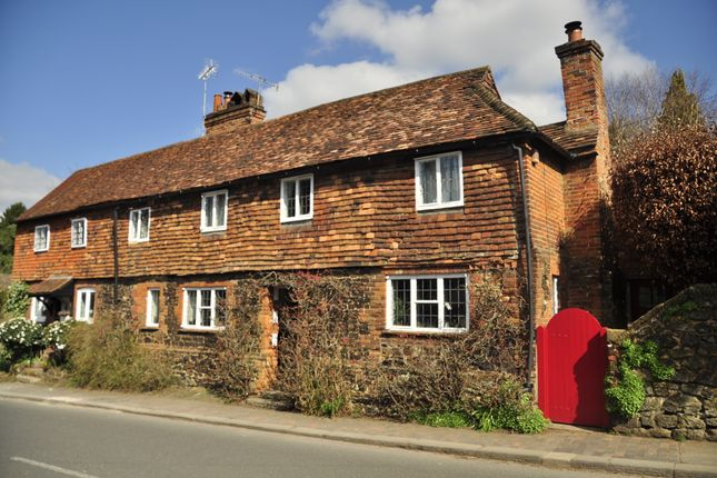 Thumbnail Cottage for sale in High Street, Limpsfield, Oxted