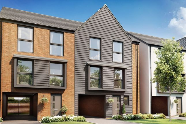 """Thumbnail Town house for sale in """"The Townhouse V1 (4)"""" at Ffordd Penrhyn, Barry"""