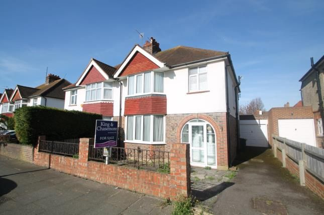 Thumbnail Semi-detached house for sale in Roman Road, Hove, Brighton, East Sussex