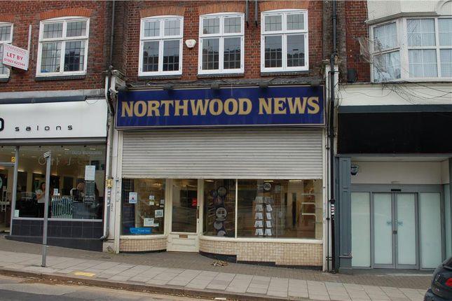 Thumbnail Retail premises to let in 46 Green Lane, Northwood, Greater London