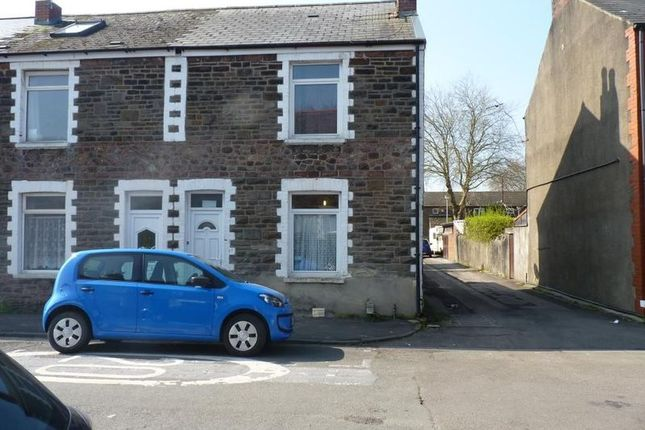 Thumbnail End terrace house to rent in Letty Street, Cathays, Cardiff