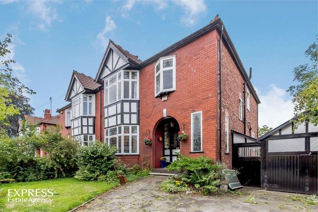 Thumbnail Semi-detached house for sale in Edge Lane, Chorlton Cum Hardy, Manchester