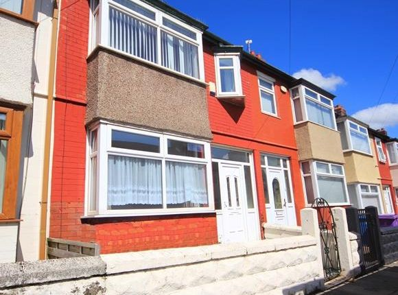 Thumbnail Terraced house to rent in Rossall Road, Old Swan, Liverpool