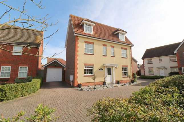 Thumbnail Detached house for sale in Hazel Close, Thorrington, Colchester, Essex