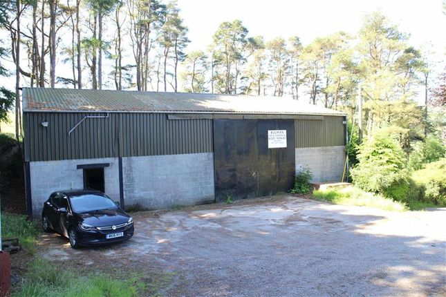 Thumbnail Parking/garage for sale in Ponterwyd, Aberystwyth