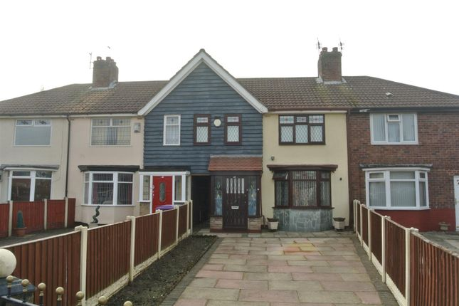 Thumbnail Terraced house for sale in Somerford Road, Huyton, Liverpool
