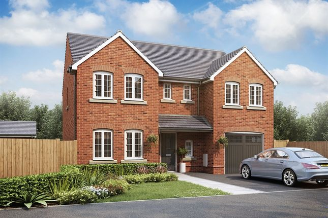 "Thumbnail Detached house for sale in ""The Chillingham "" at Fellows Close, Weldon, Corby"