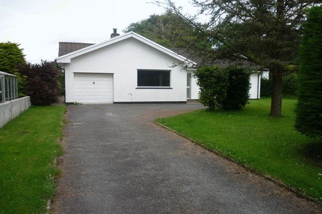 Thumbnail Detached bungalow to rent in Llangwm, Haverfordwest