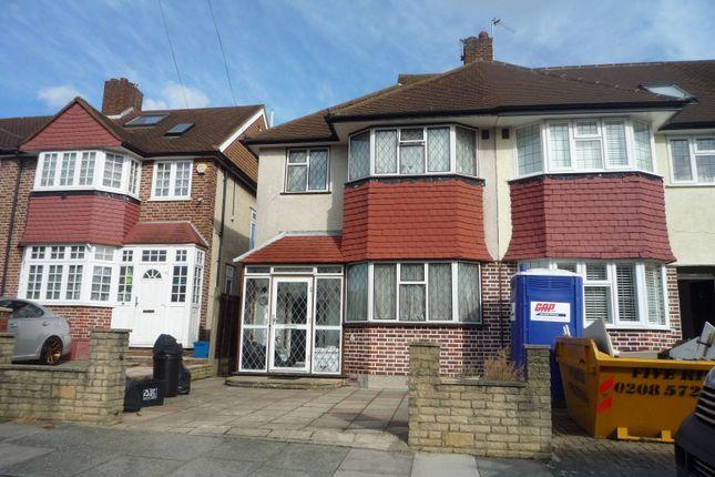 Thumbnail End terrace house for sale in Dorset Way, Whitton, Twickenham