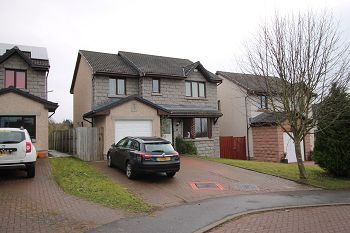 Thumbnail Detached house to rent in Mary Findlay Drive, Longforgan