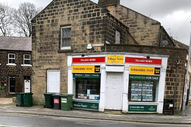 Thumbnail Retail premises for sale in Main Street, Menston, Ilkley