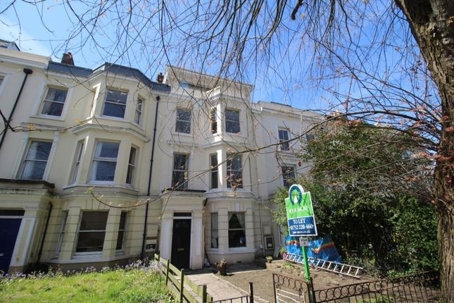 Thumbnail Flat to rent in Devonport Road, Stoke, Plymouth