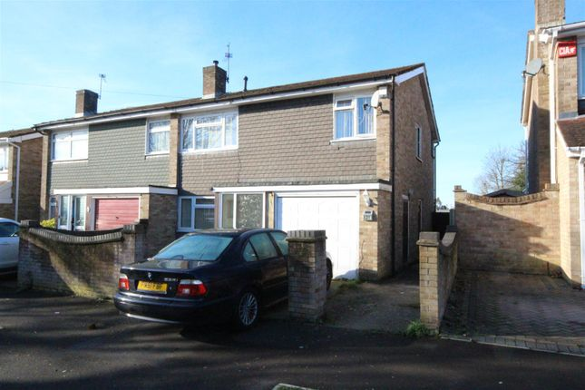 Thumbnail Semi-detached house for sale in Alameda Way, Purbrook, Waterlooville
