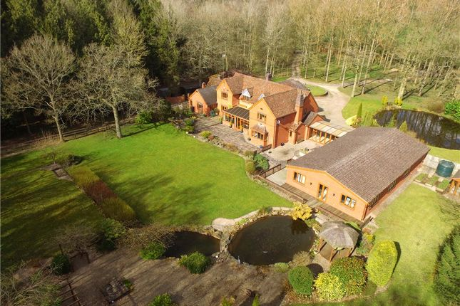 Thumbnail Detached house for sale in The Retreat, Bartles Wood