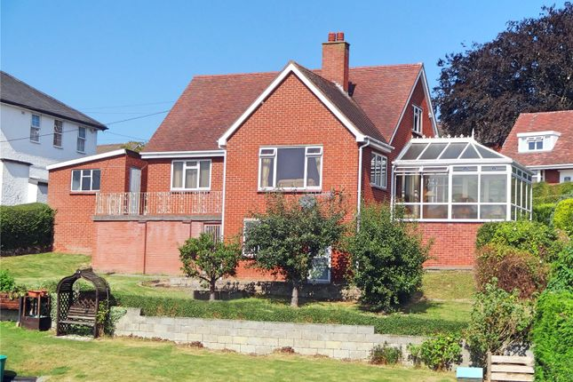 Thumbnail Bungalow for sale in Croeso, Barn Lane, Newtown, Powys
