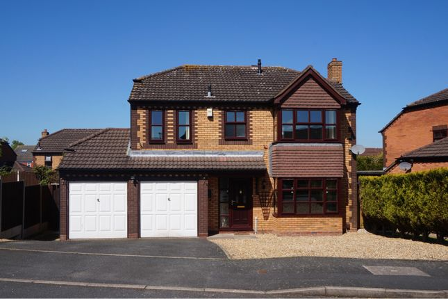 Thumbnail Detached house for sale in Dalby Close, Apley Telford