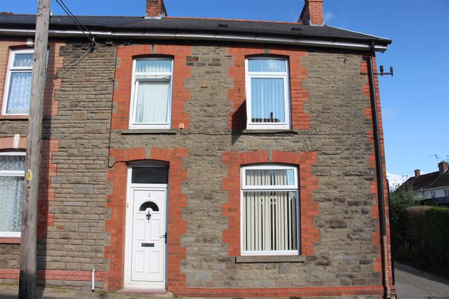 Thumbnail End terrace house for sale in William Street, Trethomas, Caerphilly