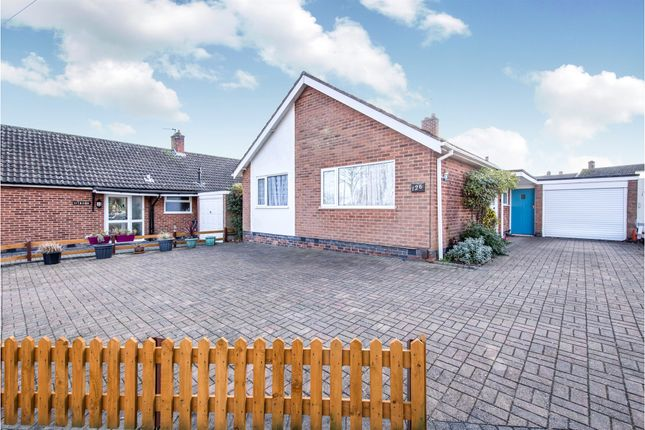 Thumbnail Detached bungalow for sale in Downing Drive, Evington, Leicester