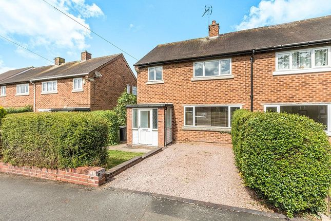 Thumbnail Semi-detached house for sale in Willow Way, Redditch
