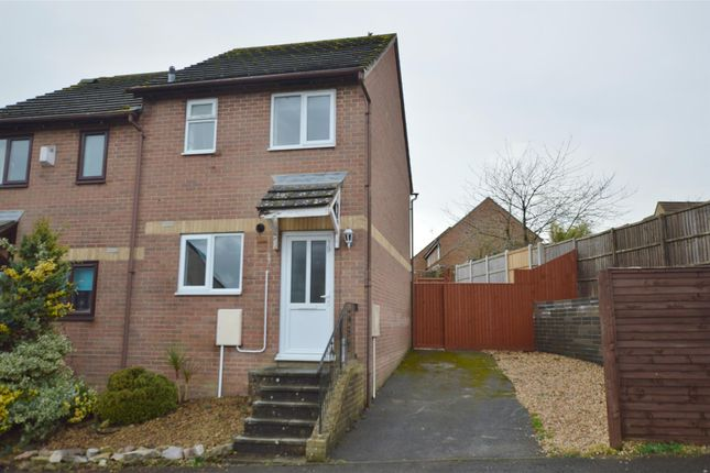 Thumbnail Semi-detached house for sale in Laxton Way, Peasedown St. John, Bath