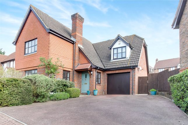 Thumbnail Detached house for sale in Bickmore Way, Tonbridge