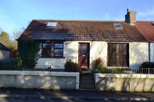 Thumbnail Bungalow to rent in Denhead, Kennoway, Fife 5Lf