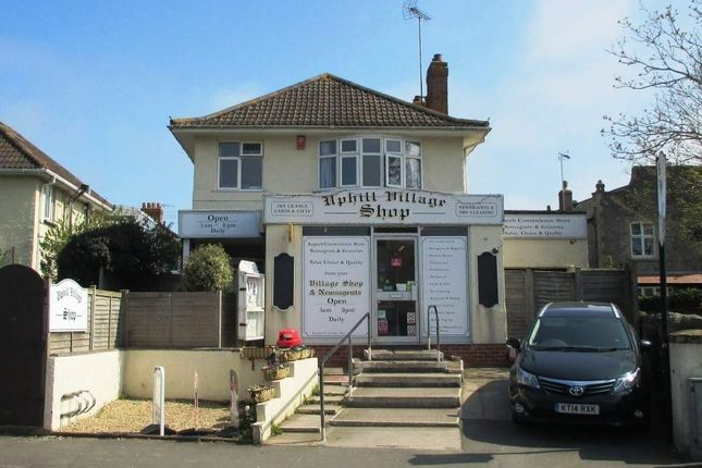 Thumbnail Retail premises for sale in Old Church Road, Uphill, Weston-Super-Mare