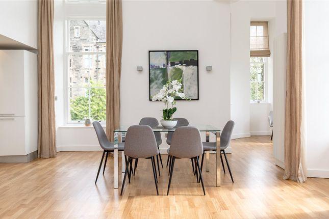 Dining Area of Flat 5, 23 Simpson Loan, Quartermile, Edinburgh EH3