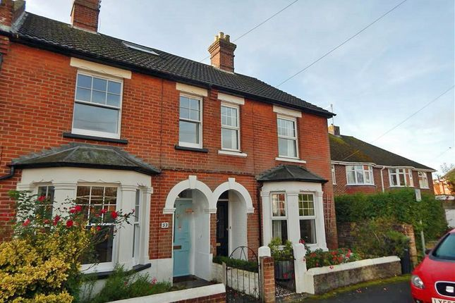 Thumbnail Terraced house to rent in Rectory Road, Salisbury, Wiltshire