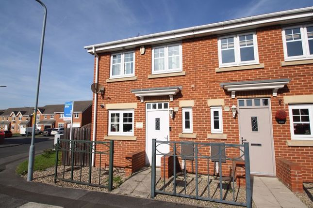 Thumbnail Semi-detached house to rent in Wensleydale Gardens, Thornaby