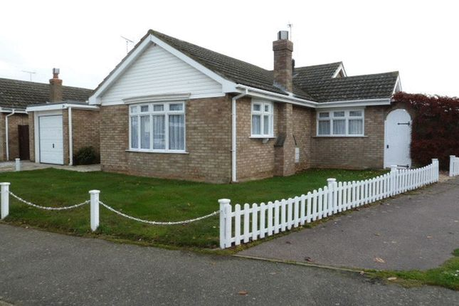 Thumbnail Detached bungalow for sale in Whittaker Way, West Mersea, Colchester