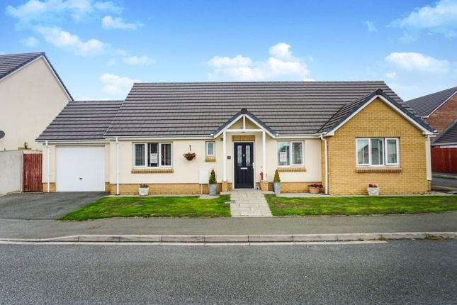 Thumbnail Detached bungalow for sale in Myrtle Meadows, Milford Haven