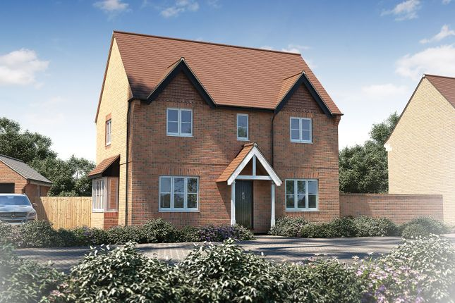 "Thumbnail Detached house for sale in ""The Bratton"" at Furlongs, Drayton, Abingdon"